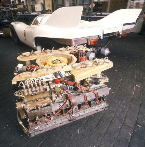 Porsche Boxster Engine Rattle: Porsche 917 Engine - Flat 12 Air Cooled!!!