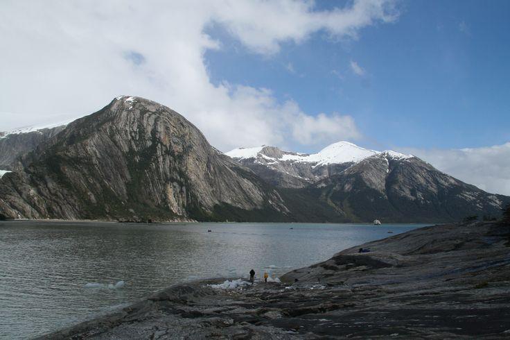 Seno Pia. Parque Nacional Alberto Agustini. Chile. XII Región de Magallanes y Antártica Chilena.
