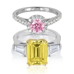 Colour- pop diamond rings: Diamonds Melted, Colour Diamonds, Diamonds Launch, Diamond Rings, Beautiful Rings, Diamonds Rings, Diamonds Yellow, Colour Pop Diamonds, Beautiful Colour