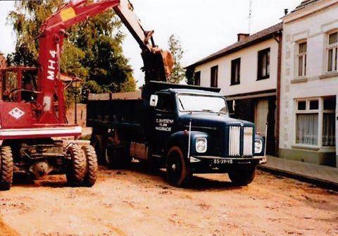 O&K met een Scania