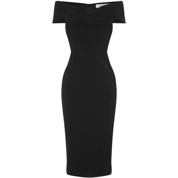 Coast Jessa Bardot Shift Dress (€89) ❤ liked on Polyvore featuring dresses, sale women dresses, coast dresses, shift dress, v-neck dresses, embellished dress and lining dress