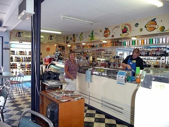 Bell's Milk Bar 1950's decor, Broken Hill, Australia