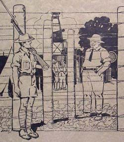 Cover of An Illustrated Diary of Australian Internment by Edmond Samuels