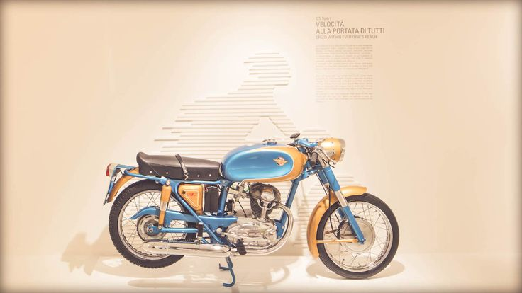 Bologna Museum old motorcycle Ducati