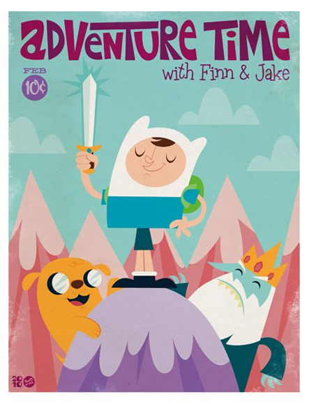 Fanart de Hora de aventuras | OLDSKULL