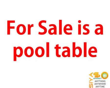 Pool Table For Sale http://www.siyasomarket.com/classified/clsId/14713/pool_table_for_sale/