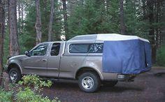 DAC DA2 Full Size Truck Cap Tent | Truck Bed Tent | LakelandGear.com - Truck Cap Tents