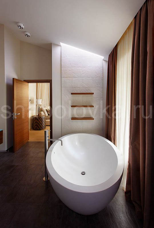 ванная - интерьер в современном стиле  Архитектурное бюро Шаболовка