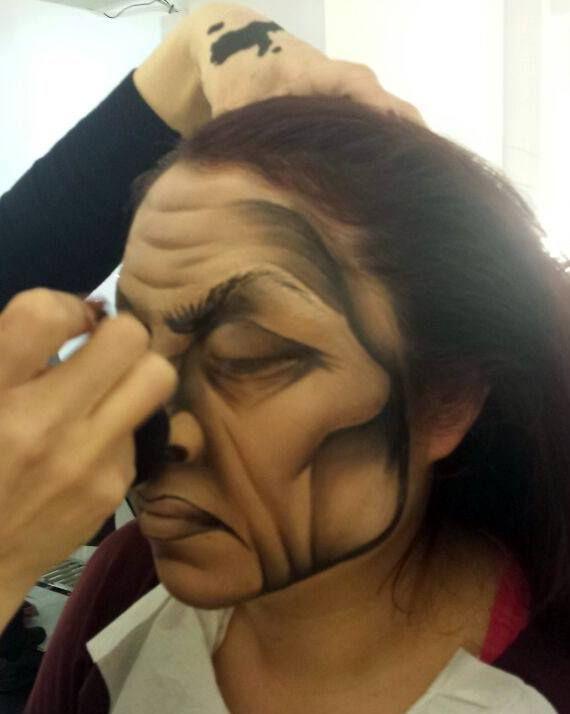 ¡Malvados! Caracterización en el curso de #maquillaje profesional