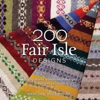 "A comprehensive guide to 200 beautiful Fair Isle designs. From simple one row ""peerie"" patterns to complex allover repeats, the 200 knitted samples contained in this book will thrill and inspire the knitter, experienced and beginner alike. #HappyReading"