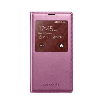 Samsung S View Cover til Galaxy S5  - Pink