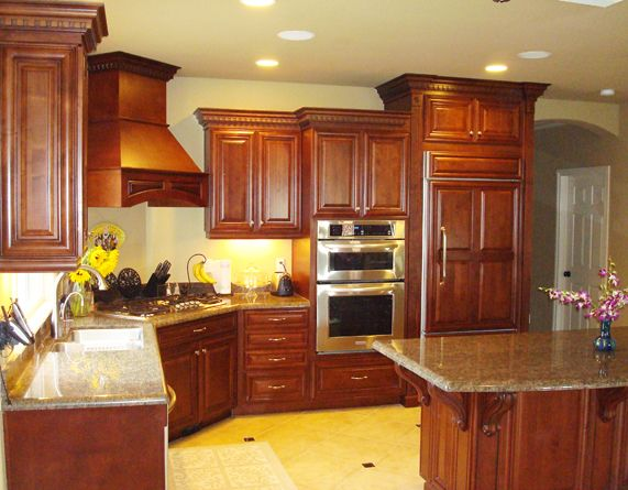 kitchen cabinets at different heights - Google Search