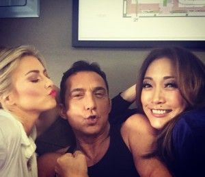 Hanging with my homies! Whos watching dancingabc DWTS tonight? 87chellip