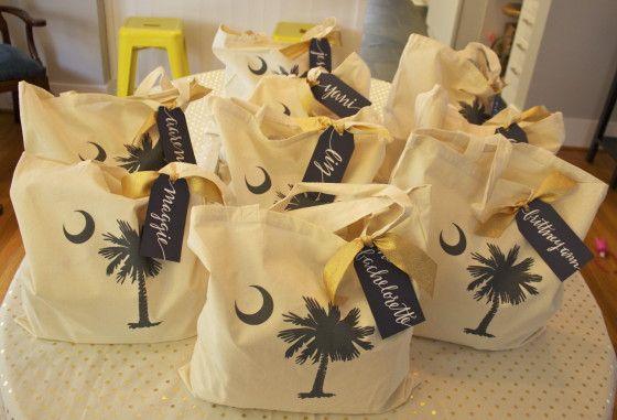 How-To: Bachelorette Welcome Bags + Hangover Kits | Hosting & Toasting