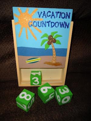 Vacation Countdown Calendar - Take Time for Lemonade Blog
