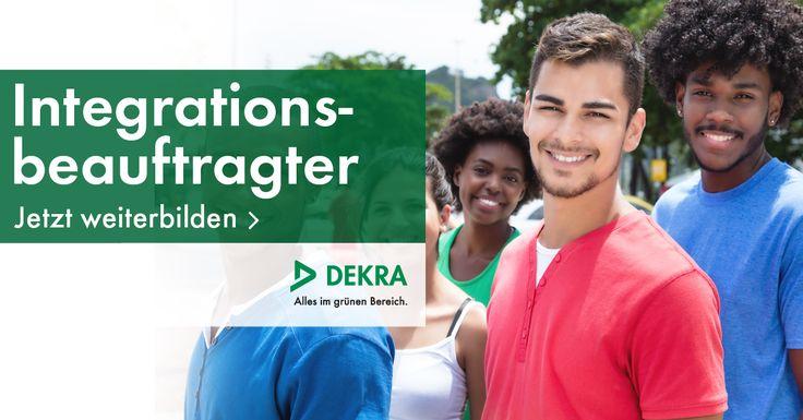 """++ Jetzt Integrationsbeauftragte/r werden ++  Starten Sie im September Ihre Ausbildung zum """"Integrationsbeauftragter für Flüchtlinge und Migranten (DEKRA)"""" im Blended Learning."""