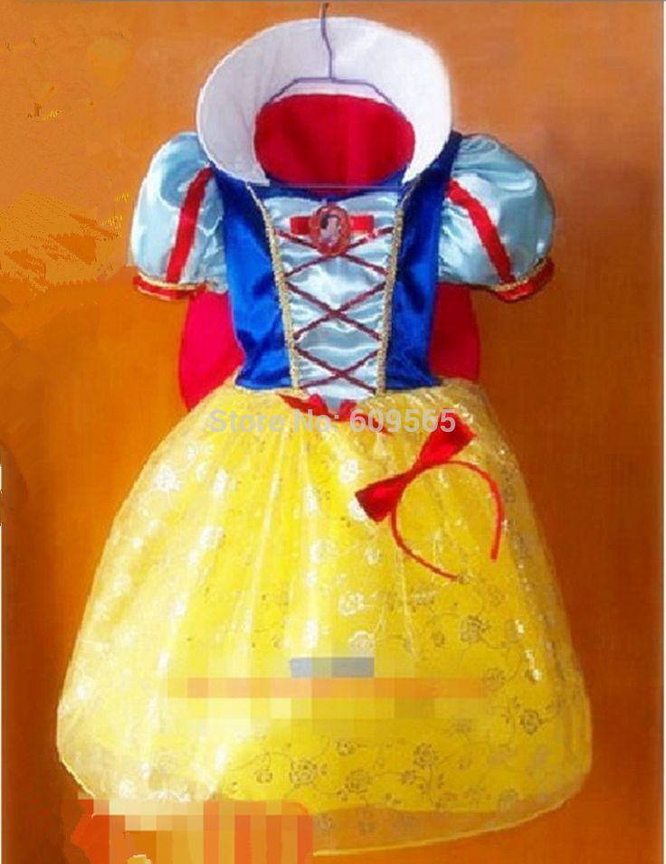 Free Shipping ! Children Kids Cosplay Dresses Snow White Princess Costume Perform Clothes HOT Sale #Affiliate
