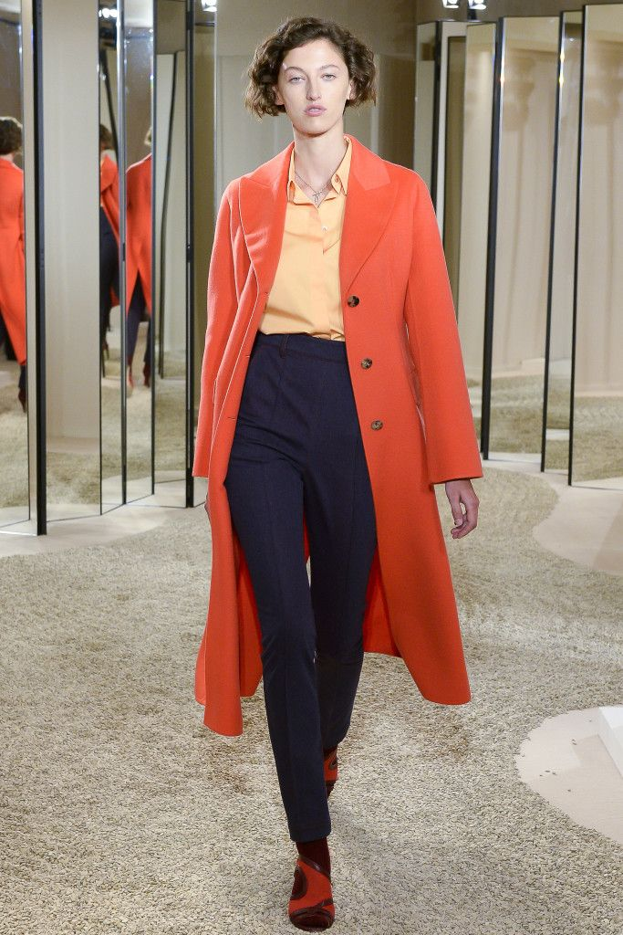 Hermes FW2017 HC - Orange and blue!