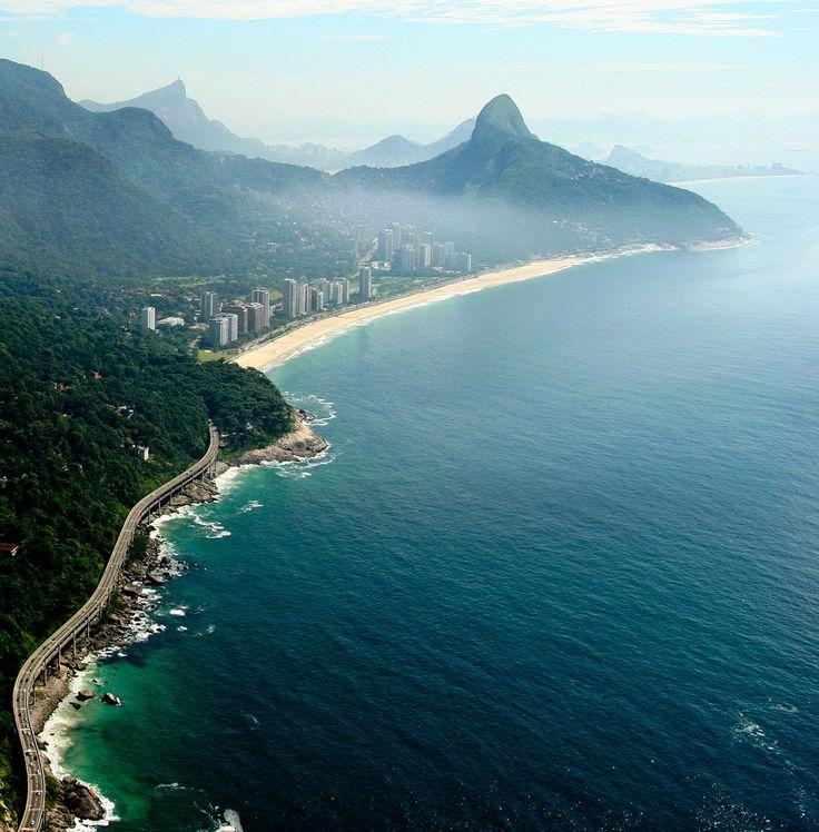 Barra da Tijuca Region, Sao Conrado Beach,Rio de Janeiro