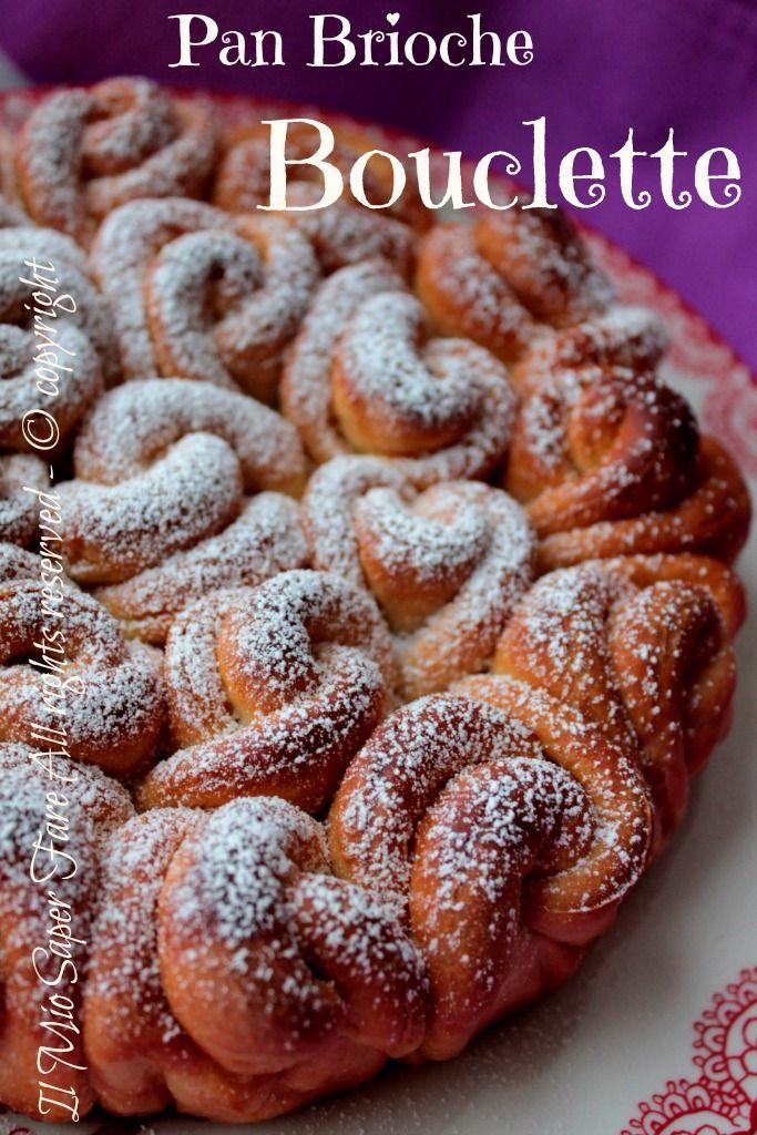 Brioche Bouclette con foto del passo passo: tante roselline chic e golose.Vi lascio anche versione SENZA latte,uova e burro. Conosciuta come brioche celtica