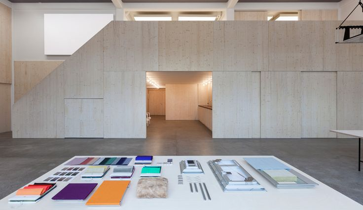 British firm Caruso St John transforms an industrial warehouse into a serenely simple research and design space for Kvadrat Soft Cells.