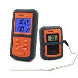 #10: ThermoPro TP07 Remote Wireless Digital Kitchen Cooking Food Meat Thermometer with Timer for BBQ Smoker Grill Oven, 300 Feet Range