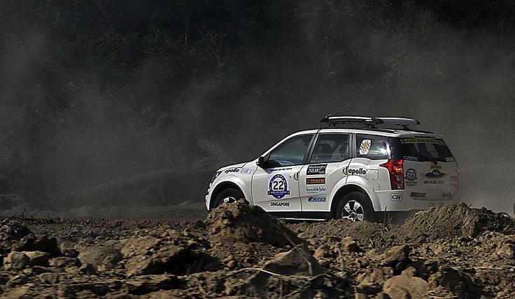 Mahindra SUV beyond the end of the world
