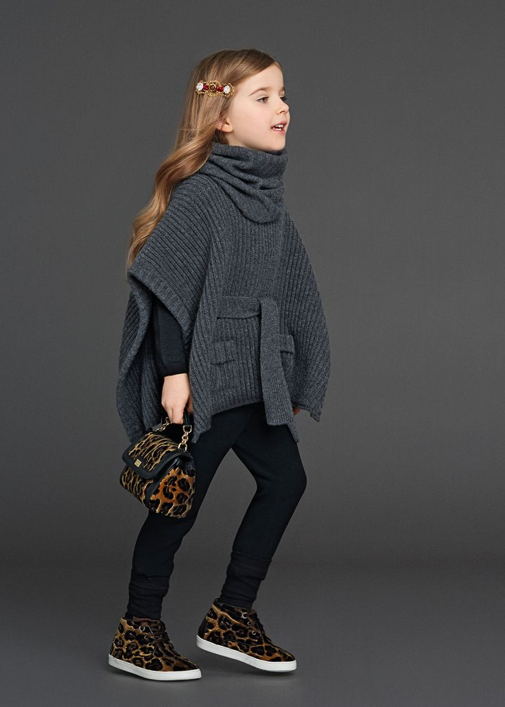 Dolce & Gabbana Children Winter Collection 2016. #girlsfashion #fashion #kidswear