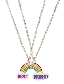 BFF Rainbow Magnetic Necklacest | Justice
