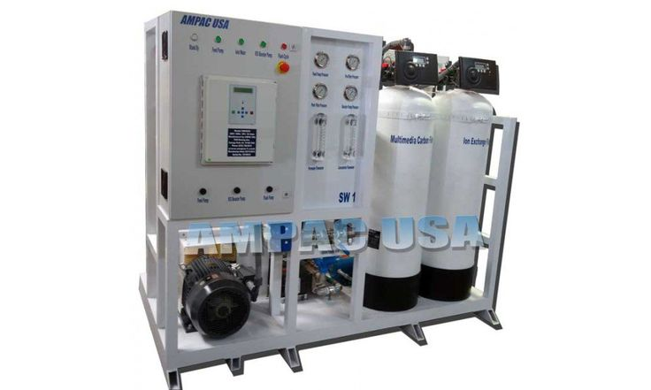 Seawater Desalination Watermaker Land Based 6,000 GPD/ 22,710 LPD | SW6000-LX