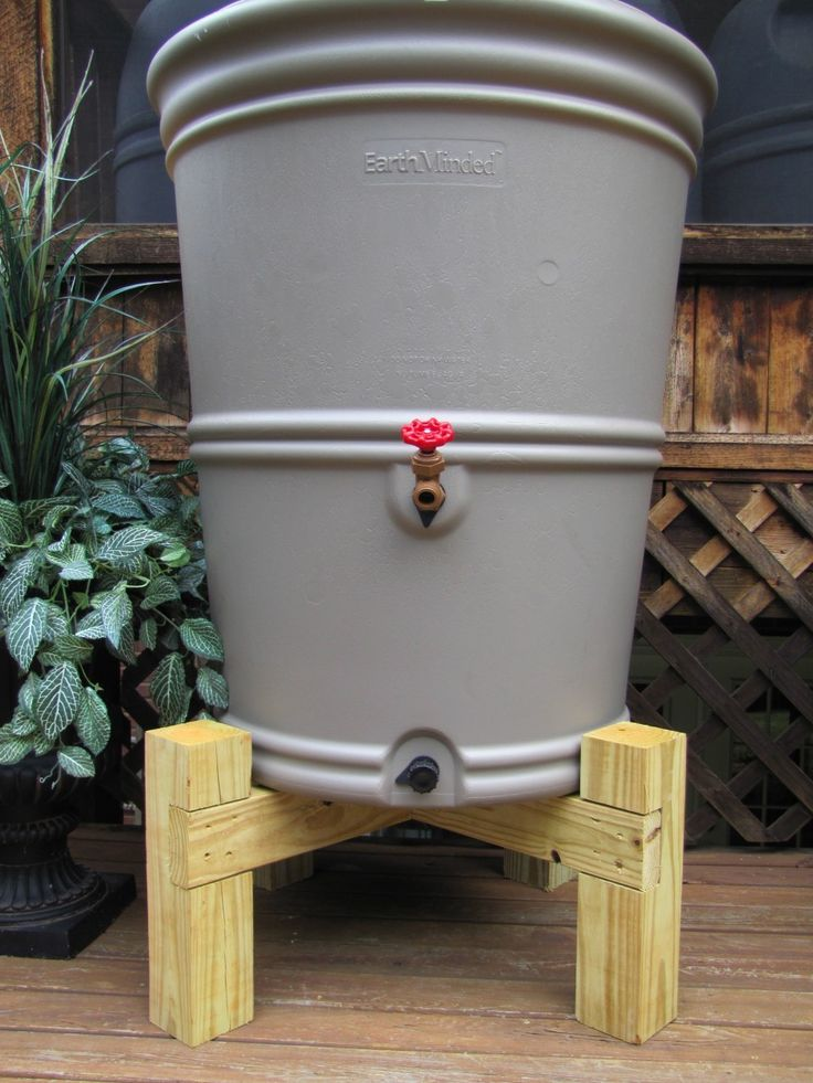 25 best ideas about rain barrel stand on pinterest rain for Rain barrel stand ideas