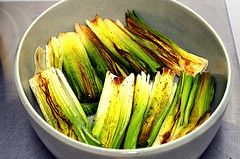 Braised leeks. I can personally vouch for this recipe in that it is one of THE best ways you'll ever eat leeks. Amazing-- and so worth the effort.: Braised Leek, Leek Recipes, Thighs Recipes, Chicken Thighs, Devil Chicken, Brown Leek, Children Recipes, Dinners Parties, Brai Leek