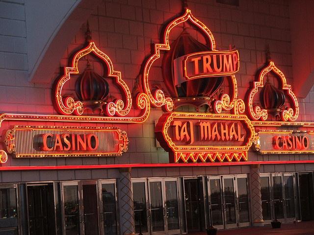 Trump Taj Mahal Casino Atlantic City Boardwalk by transatlanticist, via Flickr