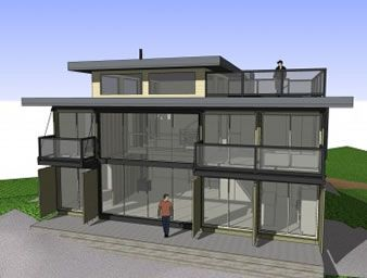 Cargo Container House Plans