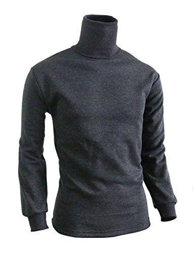 BCPOLO Men's Turtleneck Long Sleeves warm sweatshirt cotton mock neck style t-shirt., http://www.amazon.com/dp/B00RAYQ03U/ref=cm_sw_r_pi_awdl_YAD7ub1TK61N6