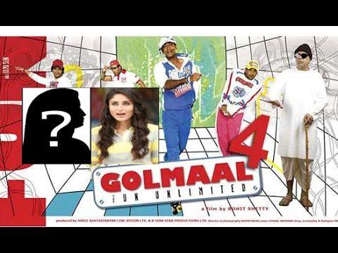Who Replacing Kareena Kapoor Khan in Rohit Shetty's Golmaal 4?