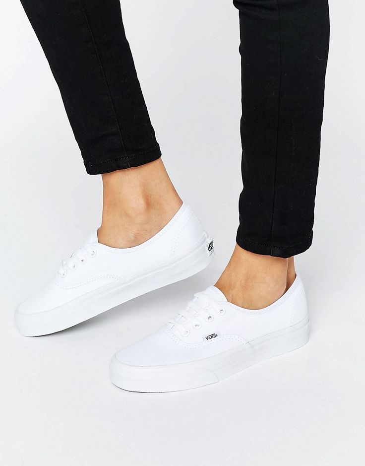 Everyone can agree that a pair of white sneakers area must have...