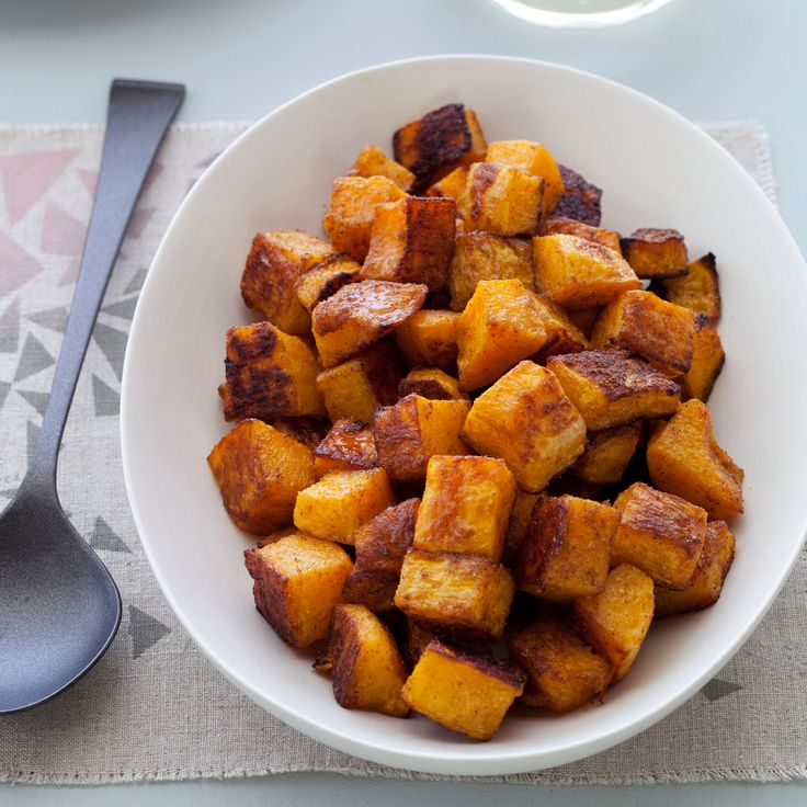 Spice Roasted Butternut Squash Recipe -- Kinda like what I made for Thanksgiving before.