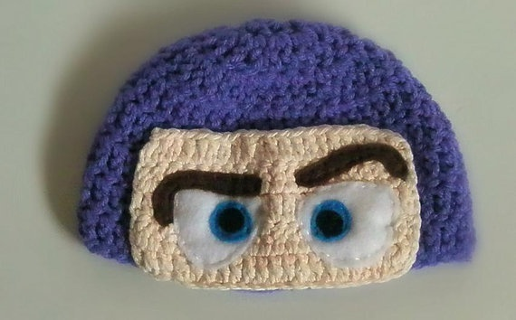 Buzz Lightyear Crochet Hat!! Have to make this for my son ...