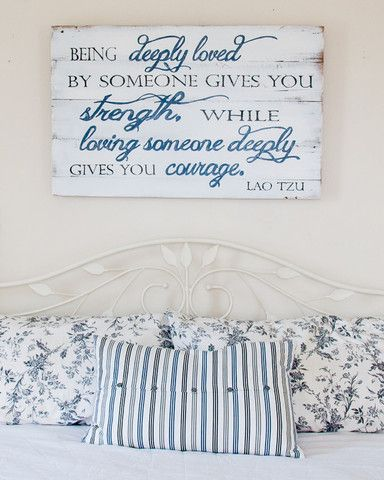 """""""Being Deeply Loved"""" Wood Sign {customizable}"""
