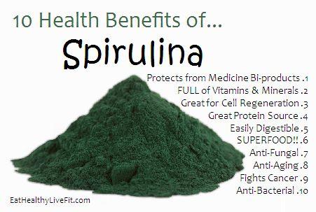 Spirulina: The Super Blue Green Algae