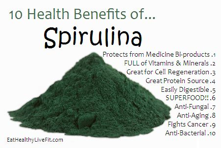 Spirulina: The Super Blue Green Algae