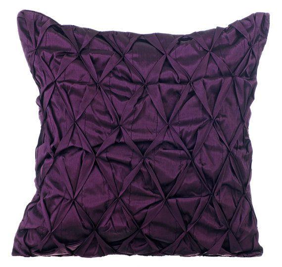 Best Throw Pillow Covers Part - 30: Plum Decorative Throw Pillow Cover Sofa Pillow By TheHomeCentric