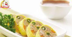 Resep Hidangan Lauk Rollade Tahu, Masakan Sehat Untuk Diet, Club Masak