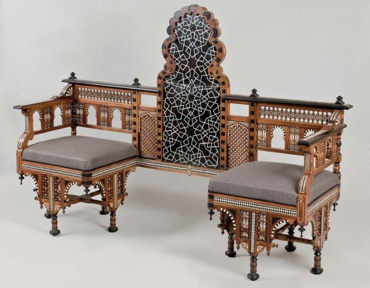 53 best images about egyptian wood work on pinterest for Victorian divan