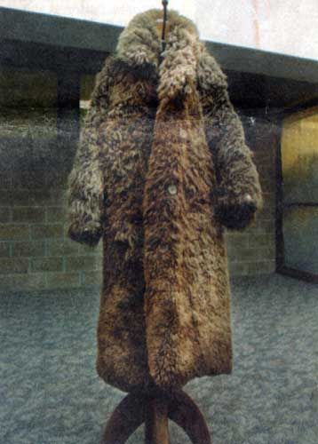 buffalo-hide coat | made Bear for was This Sale Coat Skin