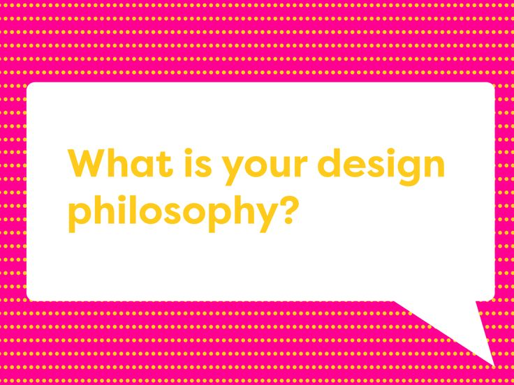 What is your design philosophy? — The Dieline - Branding & Packaging Design