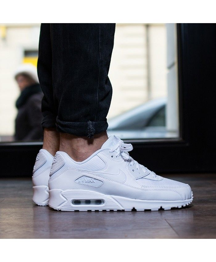 Men s Nike Air Max 90 Essential White 537384-111,Beautiful nike air max 90  series ebaf4c38b95