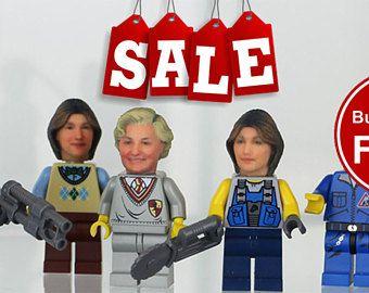 Se convierte en su propio minifigura LEGO - divertirse esta Navidad, comprar 2 obtener 1 gratis