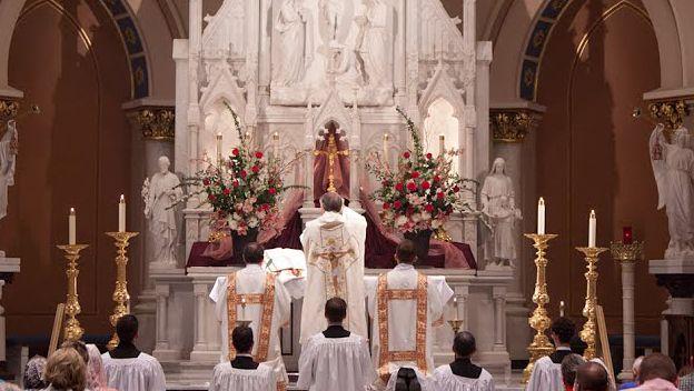 Latin Mass T st joe